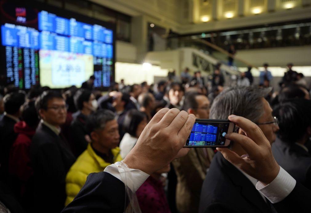 Bolsa de Tóquio perde 2,28% na abertura