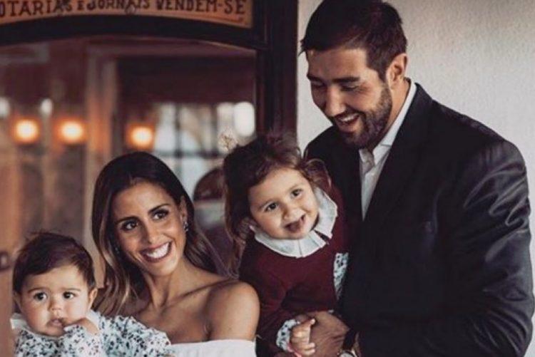 Carolina Patrocínio, Gonçalo Uva e as filhas, Diana e Frederica