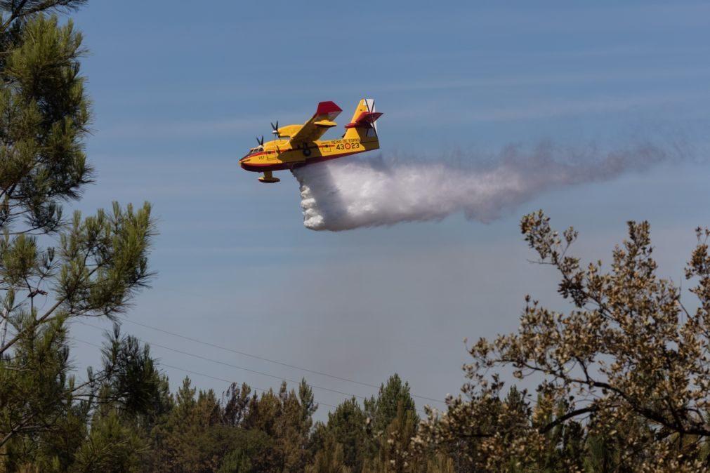 Avião amarou na barragem do Sabugal, tripulação ilesa