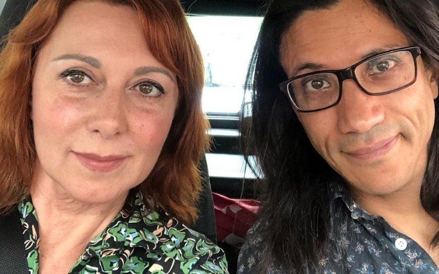 Maria João Abreu dá beijo apaixonado a marido Atriz da SIC é surpreendida em pleno concerto por João Soares