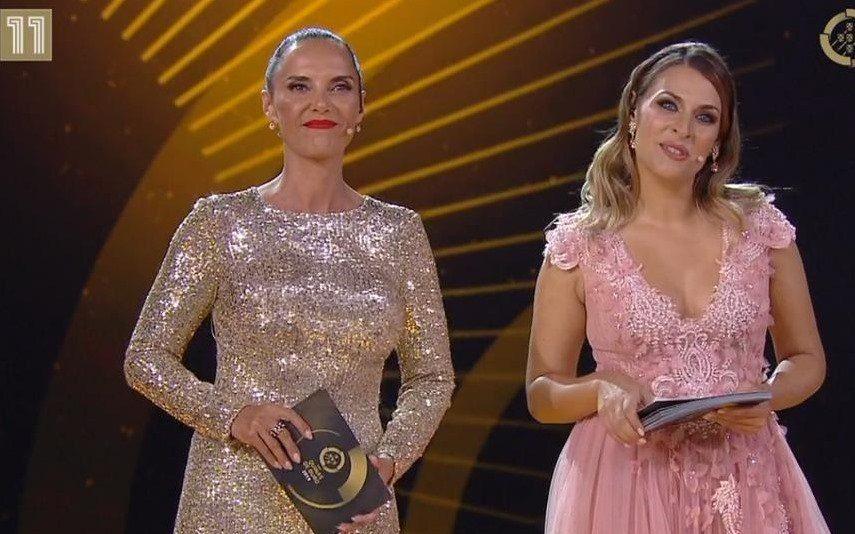 Iva Domingues Em sofrimento, apresenta gala Quinas de Ouro