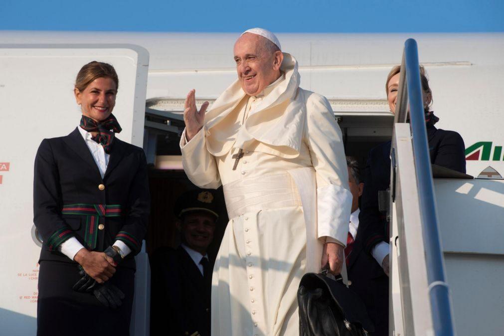 Papa Francisco aterra em Maputo para iniciar visita ao país