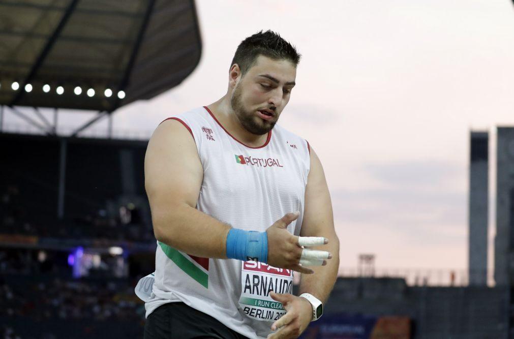 Tsanko Arnaudov deve ficar de fora do Mundial de atletismo