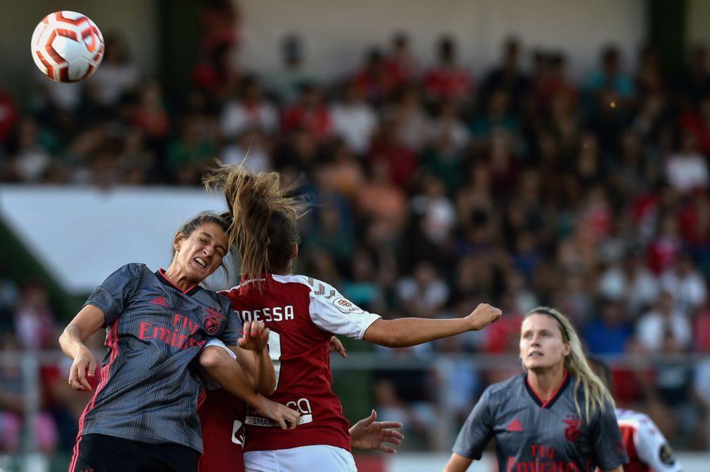 Benfica conquista Supertaça e mantém pleno no futebol feminino