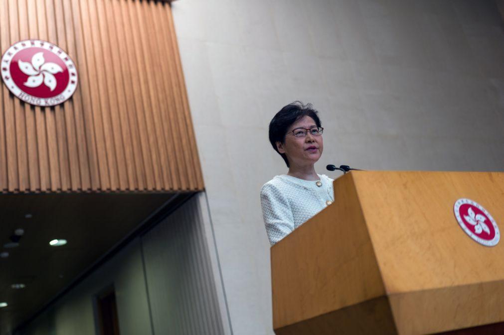 Interferência dos EUA nos assuntos de Hong Kong é