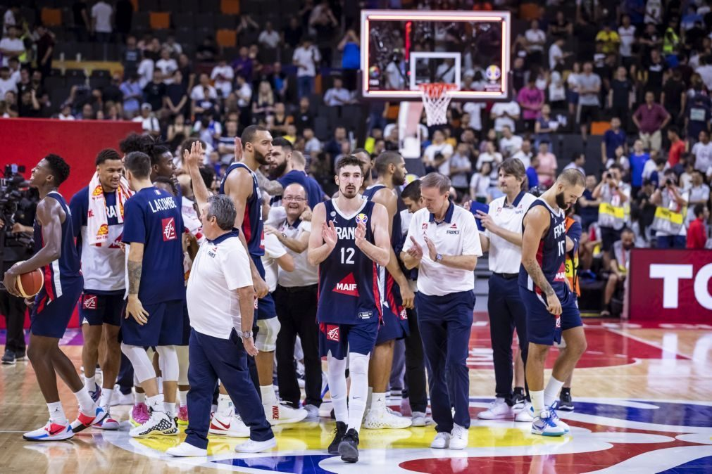 França elimina Estados Unidos nos quartos de final do Mundial de basquetebol