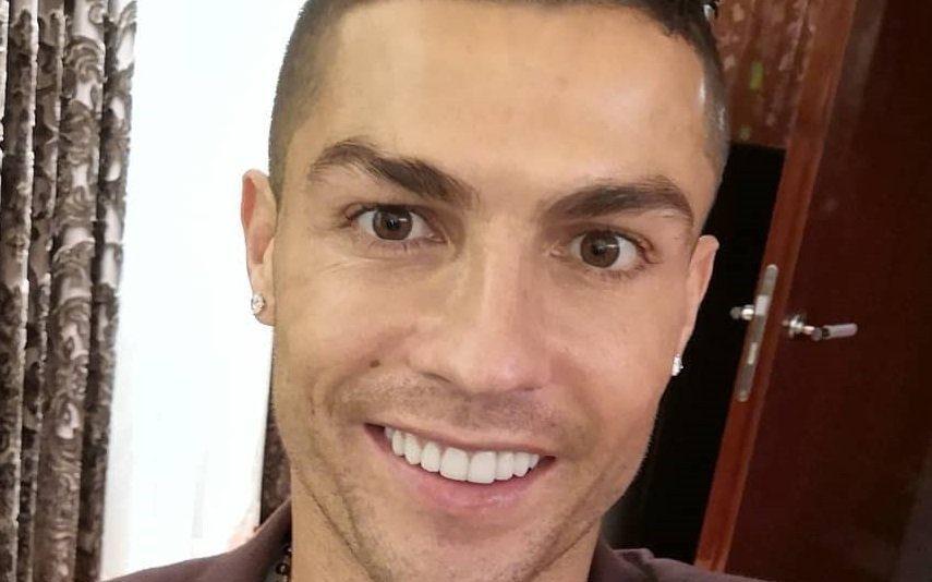 Cristiano Ronaldo já pode abraçar mulher que lhe matava a fome com hambúrgueres