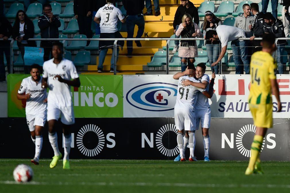 Vitória de Guimarães vence na visita ao Tondela e sobe ao sexto lugar [vídeo]