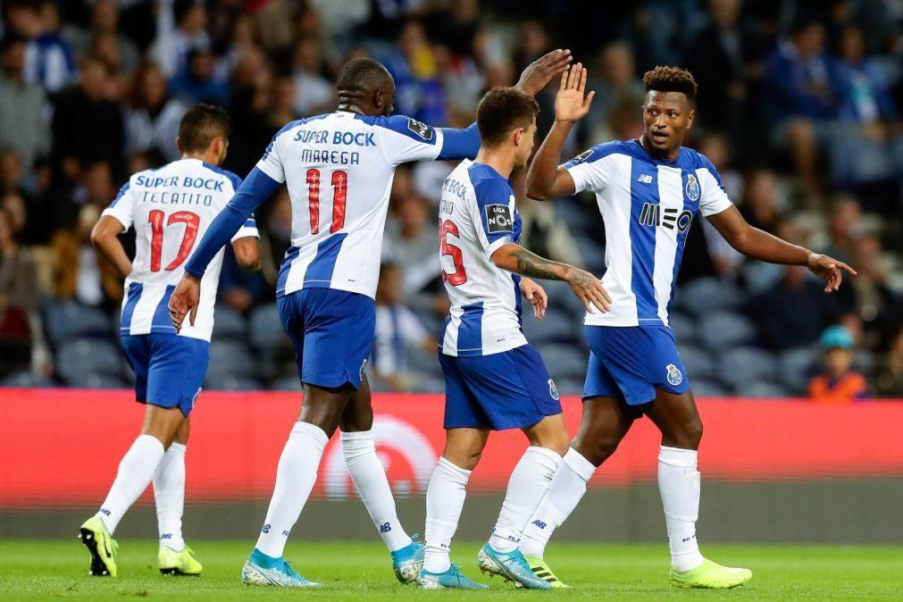 FC Porto iguala Benfica na liderança provisória ao vencer Santa Clara