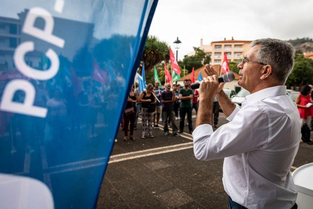 PCP/Madeira diz que desafio do PS à oposição para formar governo é