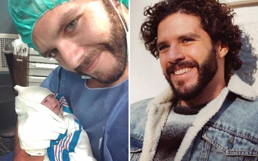 Tomás Alves Já é pai de uma menina. Veja as primeiras imagens da bebé