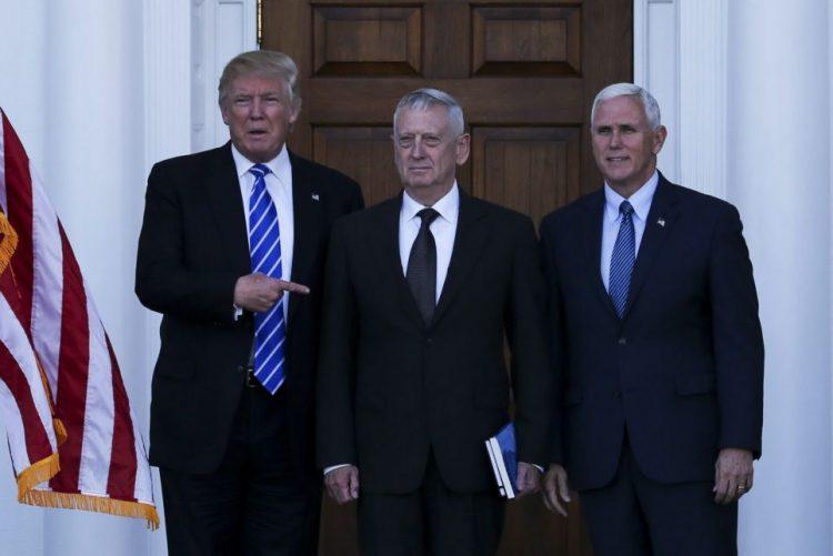 EUA/ Eleições: Trump anuncia nomeação de general James Mattis para a Defesa
