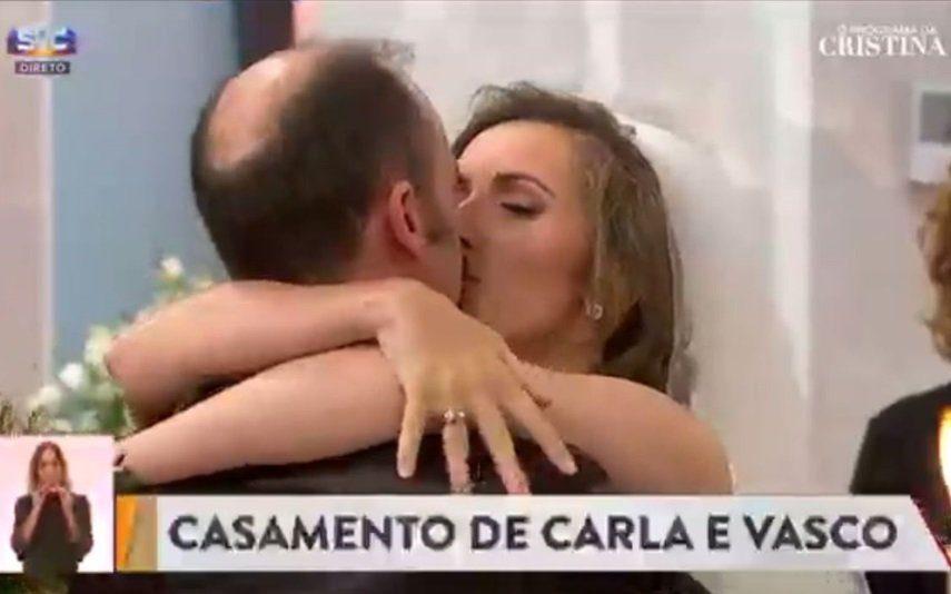 Casamento em direto A história de amor e as imagens da cerimónia dos noivos que Cristina Ferreira «casou»