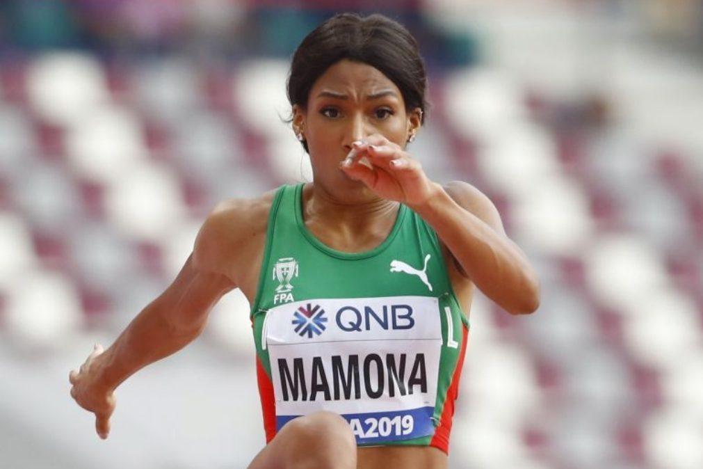 Patrícia Mamona dormiu duas horas e foi buscar a medalha.