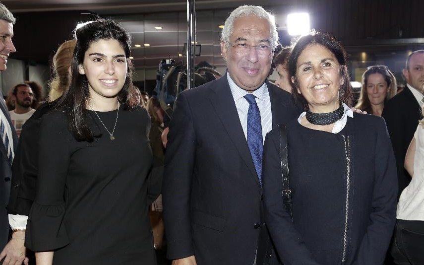 António Costa Depois de votar, passa a tarde a ver «os sítios» que a filha anda a escolher para casar