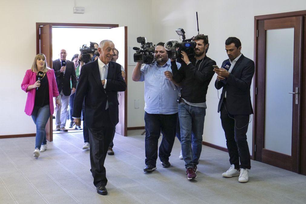Marcelo Rebelo Sousa espera receber na terça-feira o primeiro-ministro que irá indigitar