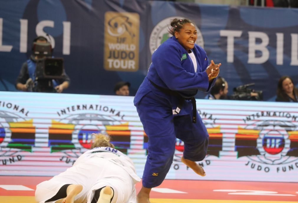 Judoca Rochele Nunes bronze na categoria de +78 kg do Grand Slam de Brasília