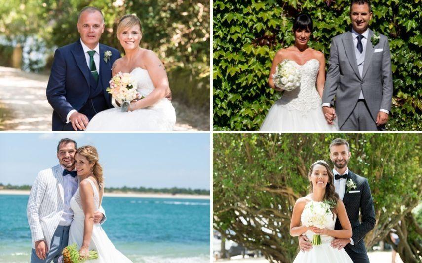 Casados à Primeira Vista Eis as imagens dos primeiros casamentos da 2.ª temporada