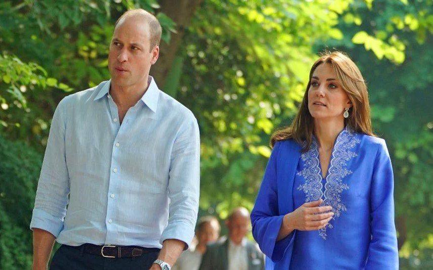 William e Kate no Paquistão Princesa Diana «presente» em toda a viagem