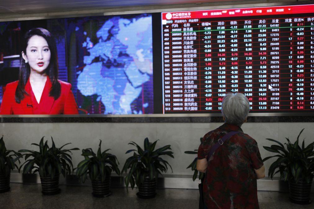 Bolsa de Xangai avança 0,05% na abertura