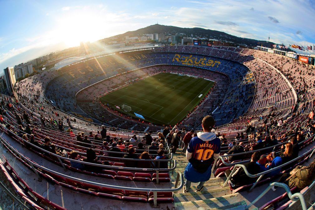 Catalunha: Liga espanhola quer mudar Barcelona-Real Madrid para o Santiago Bernabéu