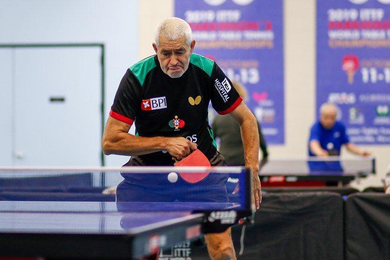 Português com Parkinson sagra-se vice campeão mundial de ténis de mesa