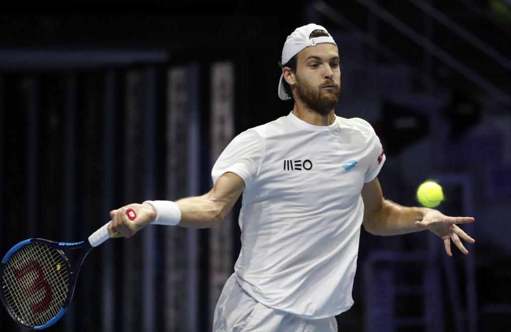 João Sousa eliminado na primeira ronda do torneio de Estocolmo