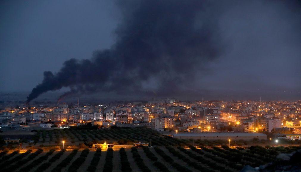 Operação turca contra milícia curda na Síria levou ao deslocamento de 300 mil civis