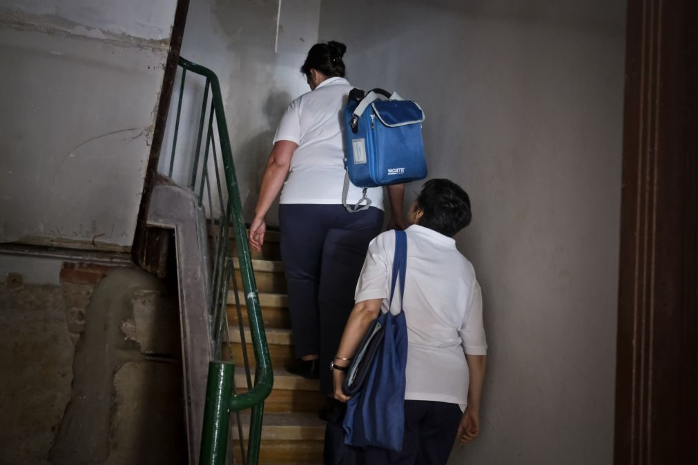 Apenas 15% dos portugueses recorrem a serviços médicos ou de enfermagem ao domicílio