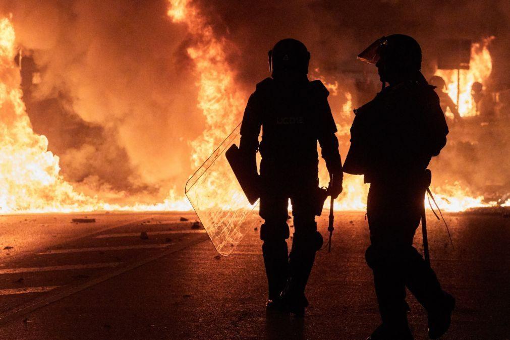 Centenas de detenções e feridos nas manifestações na Catalunha