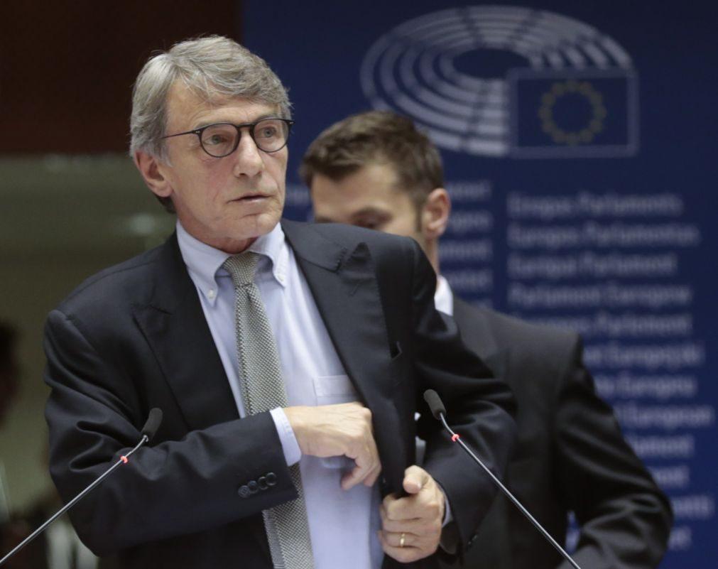 Síria: Presidente do PE