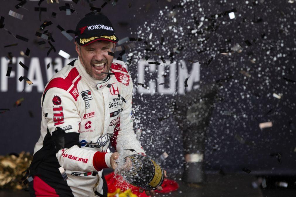 Tiago Monteiro regressa ao Grande Prémio de Macau em novembro