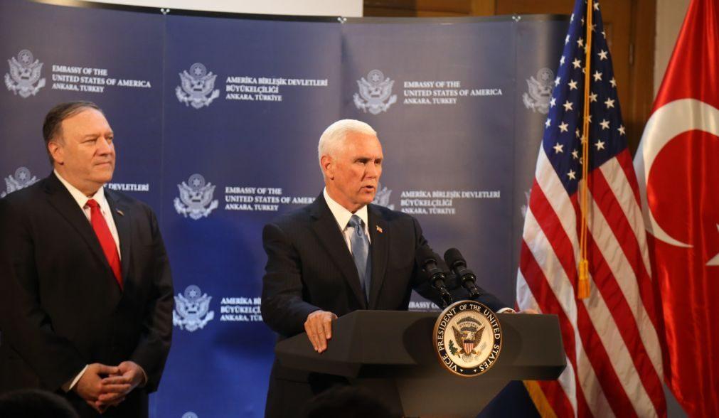 Turquia termina ofensiva na Síria após retirada dos curdos -- vice-PR dos EUA