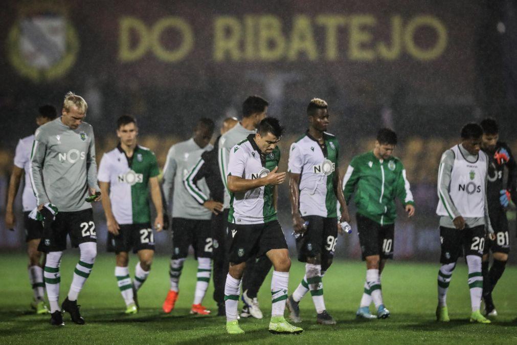 Sporting, detentor do troféu, eliminado da Taça pelo Alverca [vídeo]