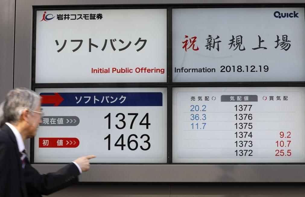 Bolsa de Tóquio fecha a ganhar 0,18%