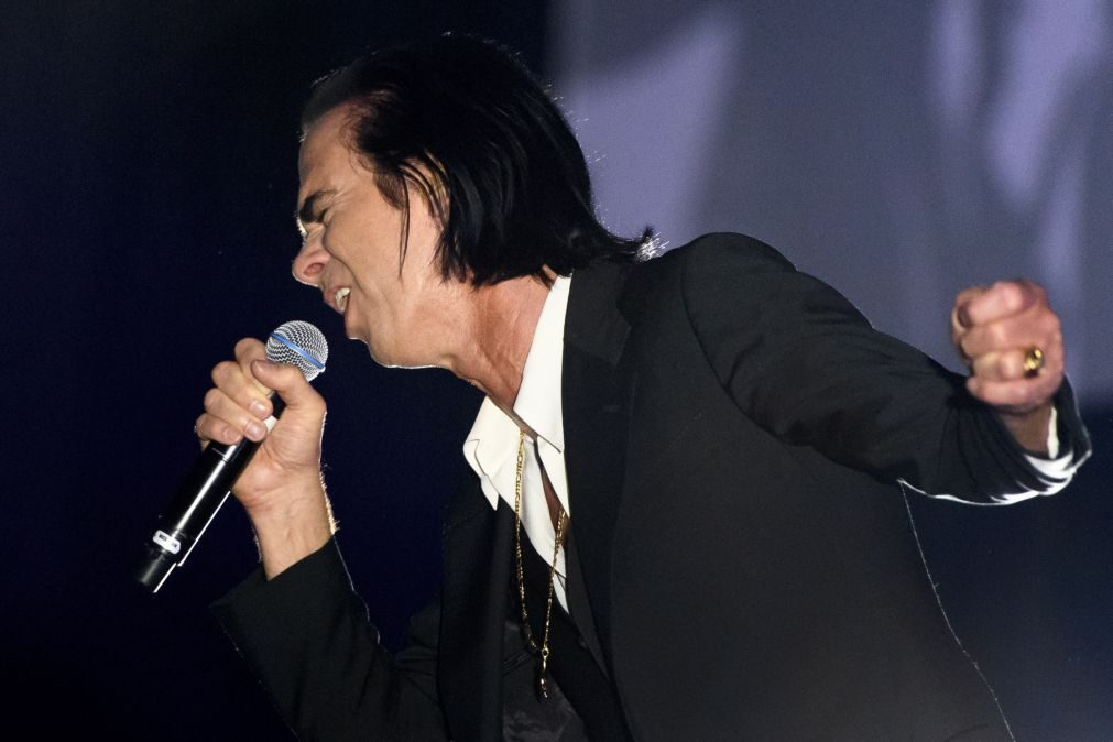 Nick Cave and The Bad Seeds em Portugal em abril de 2020