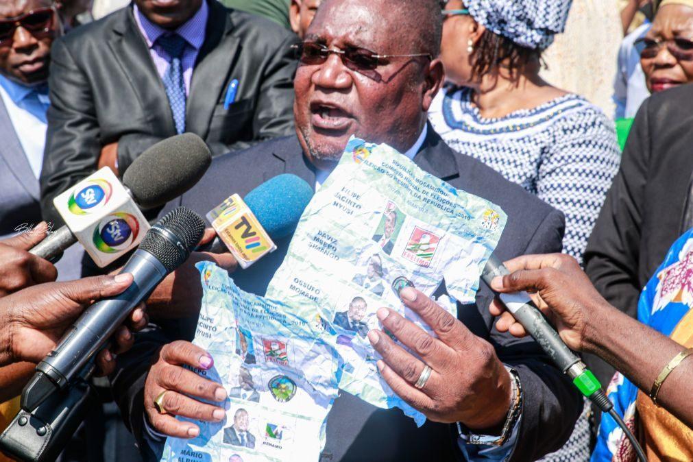 Renamo recusa resultados e pede novo ato eleitoral em Moçambique