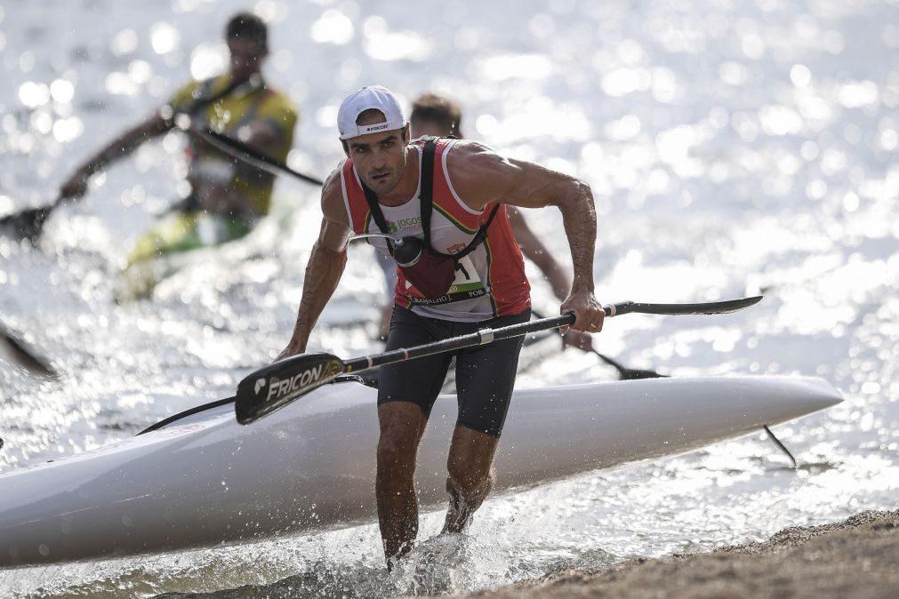 José Ramalho vice-campeão do mundo de maratonas em canoagem