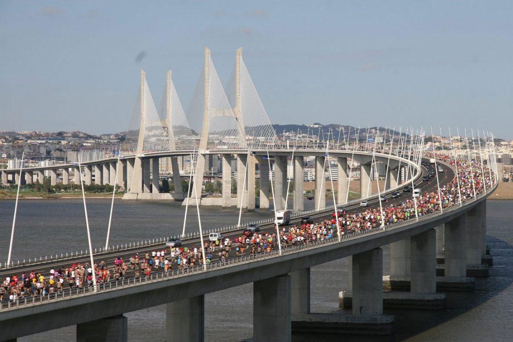 Meia maratona de Lisboa corta trânsito na Capital [consulte alternativas]
