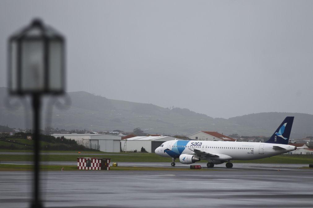SATA realizou todos os voos programados no 2º  dia de greve dos tripulantes de cabine
