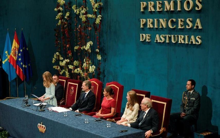 Princesa Leonor Estreia-se nos Prémios Princesa de Astúrias com discurso memorável