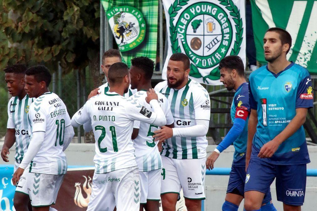 Vitória de Setúbal goleia Águias do Moradal e segue em frente na Taça de Portugal