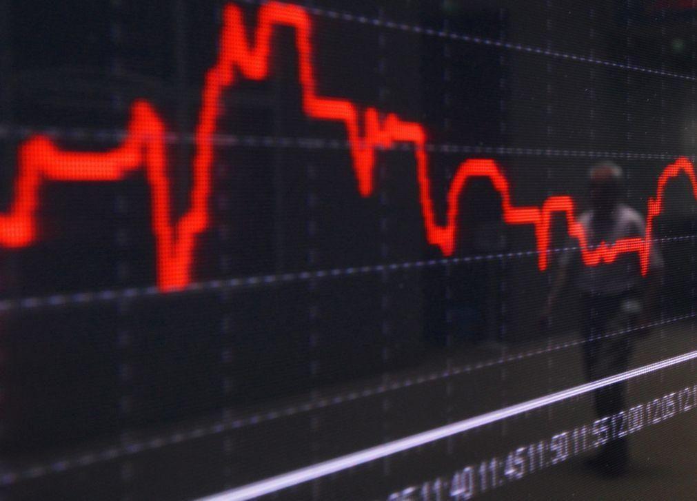 Bolsa de Xangai abriu a perder 0,14%