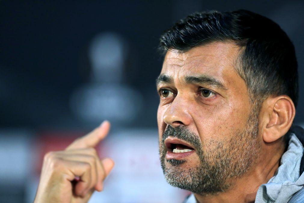 Sérgio Conceição: «Temos de ser mais equipa do que fomos na Holanda»