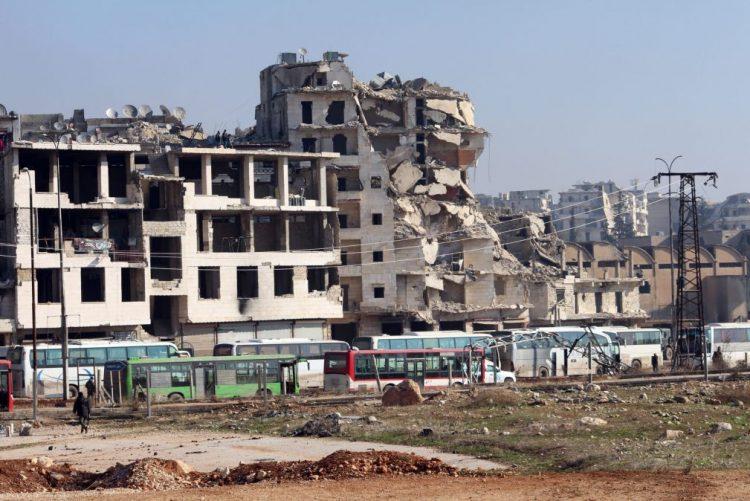 Batalhão da polícia militar russa enviado para Alepo