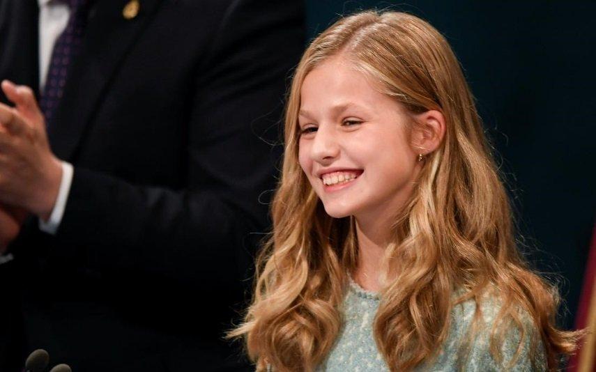 Princesa Leonor Herdeira à coroa espanhola completa 14 anos