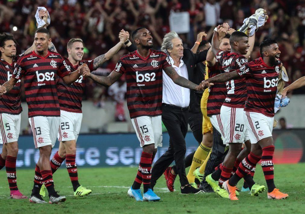 Flamengo, de Jorge Jesus, regressa às vitórias com goleada