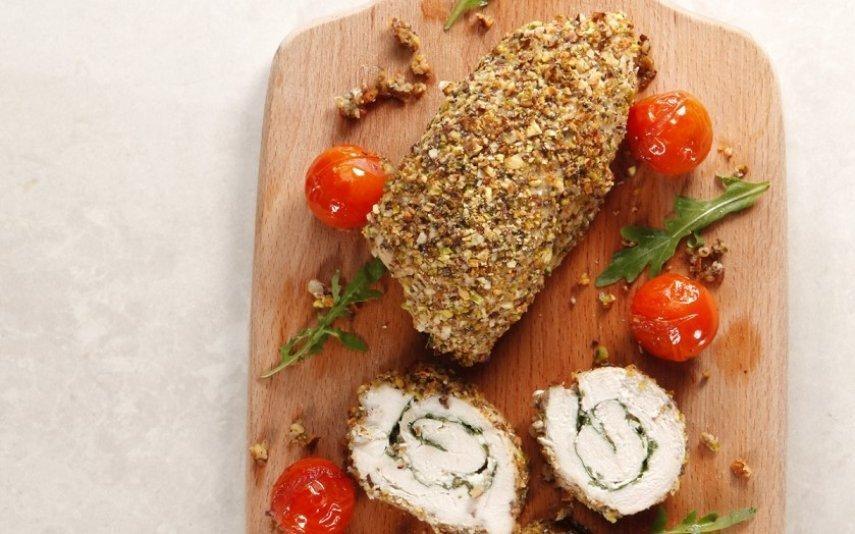 Receita de Rolinhos de frango Sabor apetecível