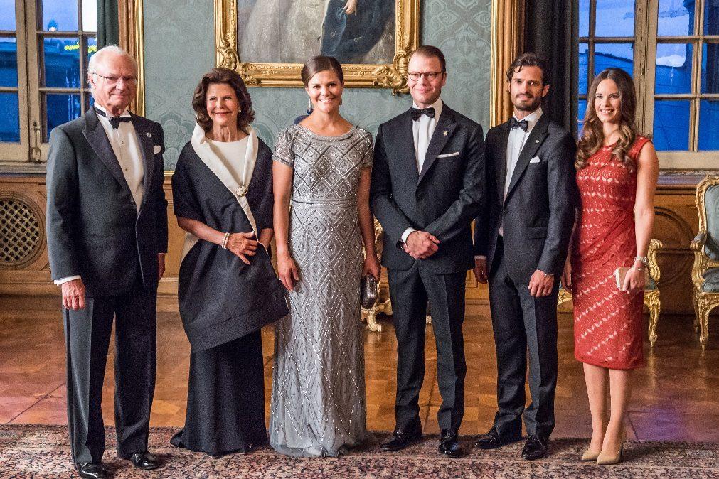 Família real sueca reagiu ao atentado terrorista de Estocolmo