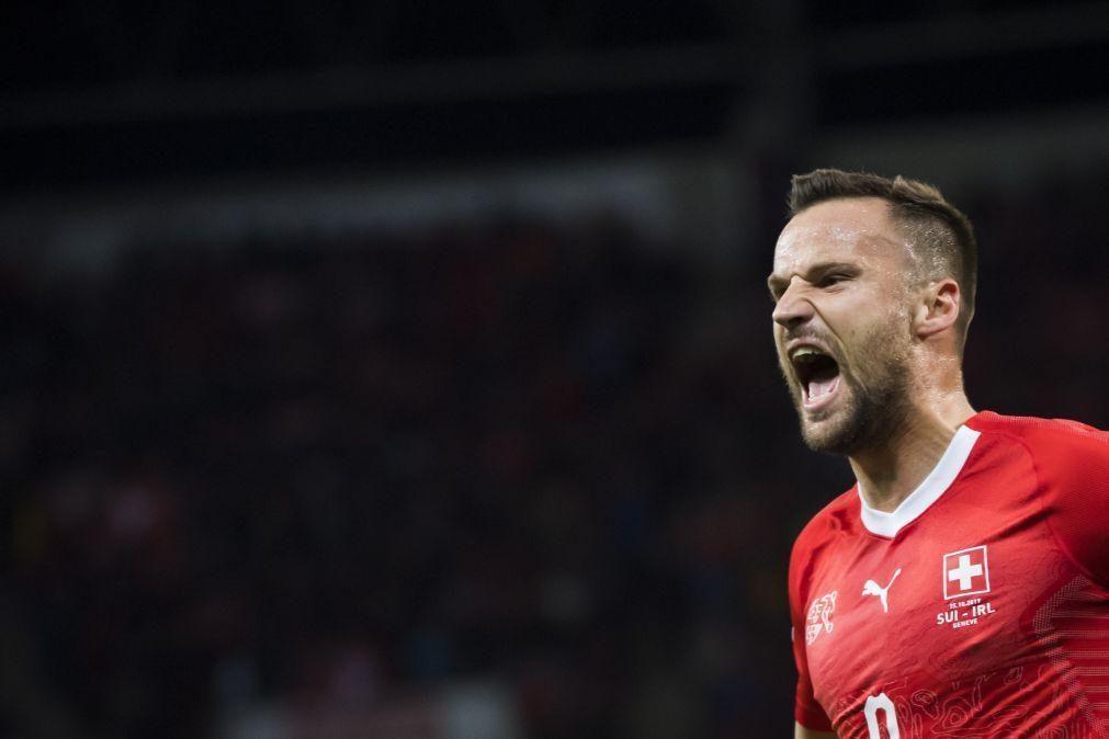 Seferovic dispensado da seleção regressa a Portugal